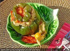 Gefüllte Paprika aus der Mikrowelle für Singels