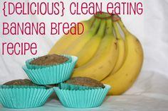 Clean Banana Bread Recipe. I would try it with almond flour instead, so I could make it gluten free.
