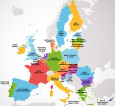 Four maps show 50 states and european countries best and worst qualities | Big Think