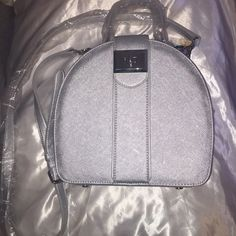 Snob Essentials Silver Bag Brand new bag in perfect condition from the Cinderella collection ✨✨✨ Snob Essentials Bags