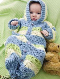 Baby gown crochet pattern free