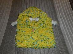 Child's Hoodie Hand Knit Hoodie Baby Hoodie by bonitastewart