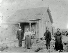 Nicodemus KS. A Black township with churches, hotels, banks etc., formed in 1877