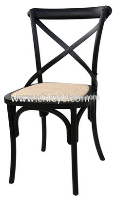 Stackable Factory Direct Cross Back Rattan Chair Resin Restaurant Dining Chair Fench Style Bistro Chair, View rattan wood dining chair, leye Product Details from Cixi Leye Seating Factory (General Partner) on Alibaba.com