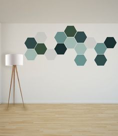 Removable Honeycomb Wall Stickers 8 Self Adhesive Fabric Art Decal Stickers Geometric Shapes Removable Honeycomb Wall Stickers 8 Self Adhesive Fabric Art Decal Stickers Geometric Shapes Melanie Martens Inspo w nde Jede Wabenform nbsp hellip Geometric Wall, Geometric Shapes, Honeycomb Shape, Interior Decorating, Interior Design, Interior Paint, Paint Designs, Bedroom Wall, Diy Wall