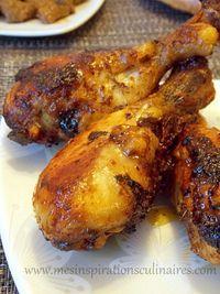 Pilons de poulet au four (delicieuse marinade)   Le Blog cuisine de Samar
