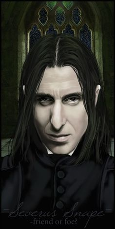 This is how I envisioned Snape from the beginning. This is also by Wycked. Severus Snape, Hogwarts, Harry Potter, Fan Art, History, Anime, Pictures, Fictional Characters, Ss
