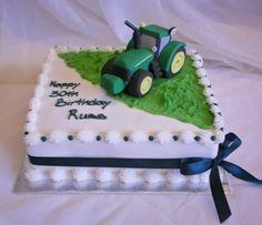 Tractor Birthday Cakes