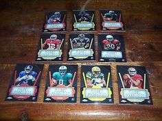 awesome LOT OF 10 2011 TOPPS CHROME FINEST FRESHMAN ROOKIE FOOTBALL CARDS MINT NICE!!! - For Sale