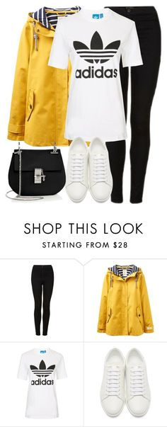 """""""Untitled #2852"""" by elenaday on Polyvore featuring Topshop, Joules, Yves Saint Laurent and Chloé"""