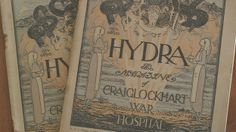 'Lost' Hydras donated to War Poets' collection in Edinburgh