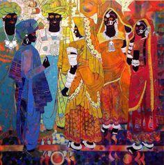 painting by artist Anuradha Thakur