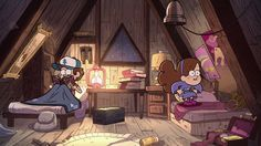 I would be Dipper and my brother would be Mabel