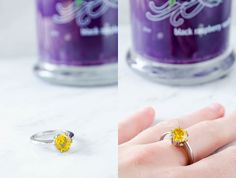 Diamond Candles ring. So awesome great gift.