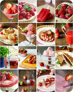 übersicht erdbeerrezepte (kleiner kuriositätenladen)