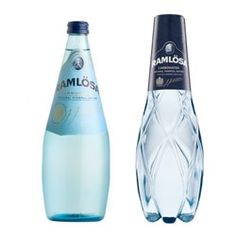 Ramlösa is a traditional sparkling water from Sweden.  Now with a new packaging. A plastic bottle shaped like a crystal.