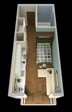 181 Best Studio Micro Mini Apartment Images Micro Apartment