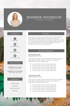 creative resume examples - professional looking resume - resume builder template - modern cv format - work resume template Modern Resume Template, Cv Template, Creative Resume Templates, Cover Letter Template, Letter Templates, Good Cv, Picture Templates, Resume Format, Cv Format