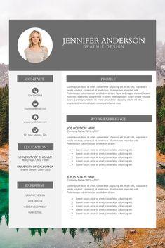 creative resume examples - professional looking resume - resume builder template - modern cv format - work resume template