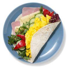 Oppskrift på tortillalefse med eggerøre | Coop Prix