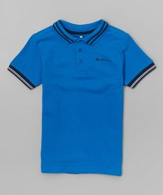 Love this Bright Colbalt Blue Polo - Infant, Toddler & Boys on #zulily! #zulilyfinds