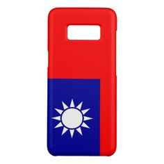 Samsung Galaxy S8 Case with flag of Taiwan - stylish gifts unique cool diy customize