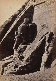 Francis Frith's 1850s photographs were the first views Europe had seen of the remnants of Egyptian civilization besides the sketches Napoleon's archaeologists made in 1798.