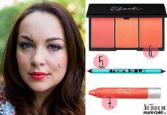 Makeup ispirato a una giacca floreale - MarieClaire
