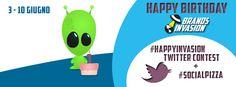 Happy Birthday Brands Invasion: #HappyInvasion Twitter #Contest!  http://brandsinvasion.com/828/happy-birthday-brands-invasion-twitter-contest/