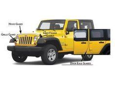 Husky Shield Hood/Door Edge/Grill Paint Protector Kit for 07-13 Jeep Wrangler & Wrangler Unlimited JK 134.99