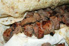 Filet Mignon Kabob (Kabob-eh Barg)