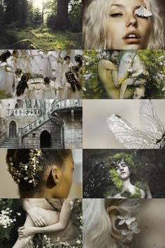 "the seelie court aesthetic ""known to seek help from humans, to warn those who…"