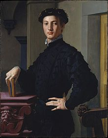 The Portrait of a Young Man by Angolo Bronzino recreates he ideal man. The young man in this portrait is not a soft individual. He displays confidence, and his posture displays a no nonsense attitude ideal for a man in the Renaissance. Renaissance Kunst, Renaissance Portraits, Renaissance Paintings, Italian Renaissance, Renaissance Clothing, Renaissance Fashion, Mr. Bean, Caricature Artist, Classic Paintings