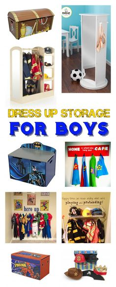 Dress Up Storage For Boys! Need Something Great For Your Boyu0027s Dress Up  Storage?