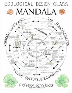 Ecological Design Mandala by Prof. John Todd