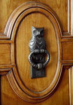 owl knocker