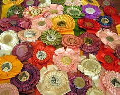 Vintage horse show ribbons  The Polohouse