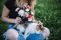 Cats and furr-ever flowers - Happy #InternationalCatDay!