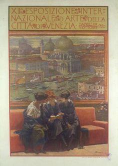 12° Esposizione internazionale d'Arte di Venezia, 1920  Sezanne Augusto