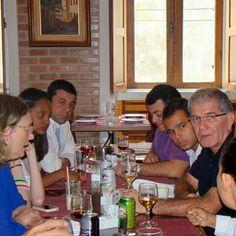 Almoço en Niteroi com a então Ministra dos Direitos Humanos, Maria do Rosário e o deputado federal Chico D´Angelo, em 2013. #Adriano Dias  #RevirandoBaú  #Arquivos #Memória #História #CoisaVelha