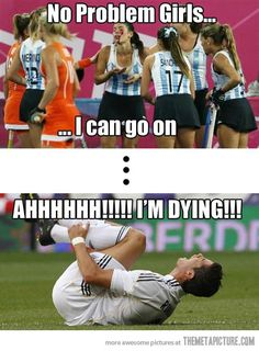 funny soccer players acting