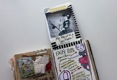 besottment by paper relics: Bird Song Event Souvenir Journal