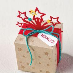 Stampin up~Birthday Blast & Star Blast Edgelits dies bundle~ NEW Birthday Blast, Star Cards, Hand Stamped Cards, Pretty Packaging, The Balloon, Stamping Up, Stampin Up Cards, Paper Crafts, Card Crafts