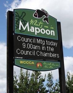 Mapoon Entrance Sign / Danthonia Designs