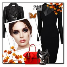 """""""Untitled #1036"""" by sunshine2470 ❤ liked on Polyvore featuring IRO and Versace"""