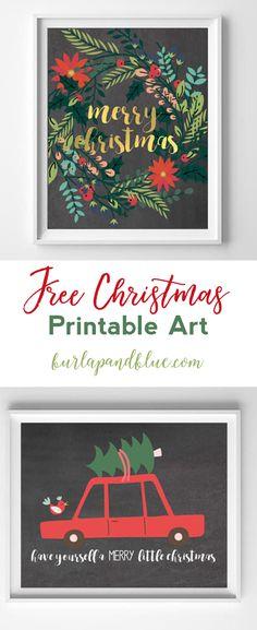 modern christmas printable art | christmas art | wall art | art | printables | free printables | merry christmas