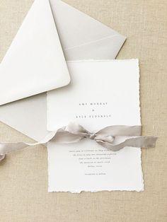 Amy Wedding Invitation Sample