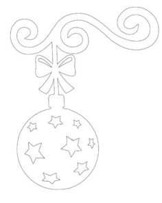 Christmas Colors, Christmas Time, Christmas Ornaments, Diy And Crafts, Paper Crafts, Christmas Templates, Ornaments Design, Scroll Saw Patterns, Diy Weihnachten