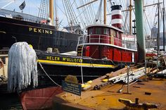 Red Tug Boat by freestylee, via Flickr