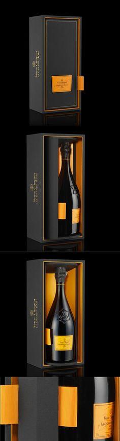 Luxury Packaging - Veuve Clicquot La Grande Dame champagne reveal